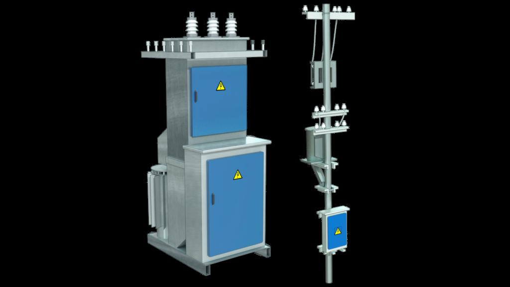 Трансформаторные подстанции КТП мачтовые и КТП столбовые
